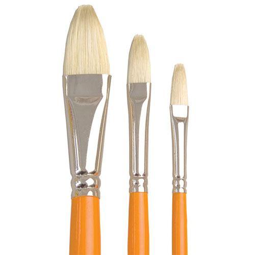 857 Interlocked Filbert Brush
