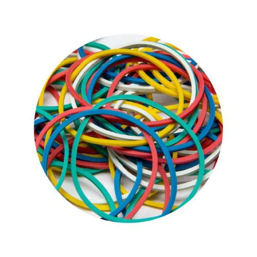 Coloured Elastic Bands