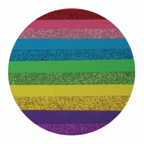 EVA Glitter Sheets A4