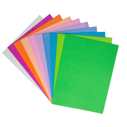 EVA Pastel Glitter Sheets A4