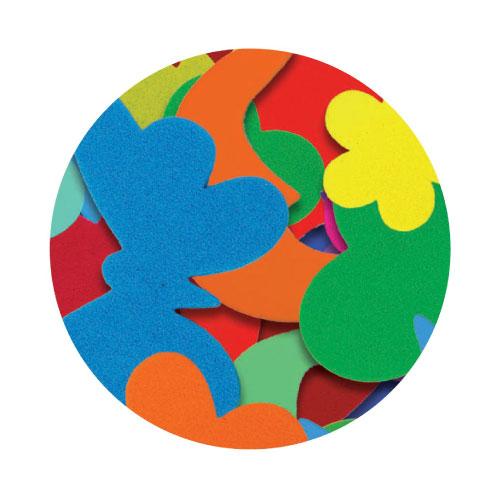 EVA Sticker Shapes