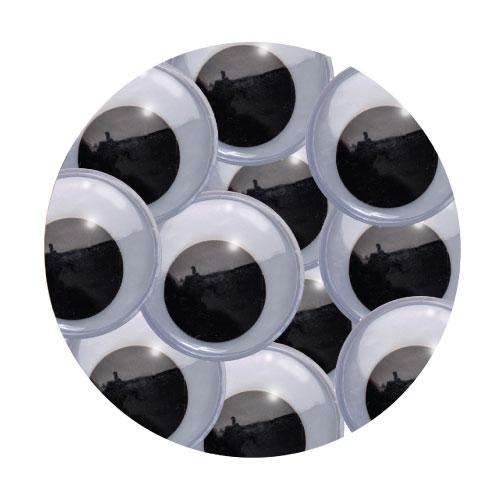 Large Basic Googley Eyes (6pc)