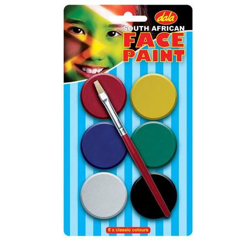 SA Flag Face Paint Kit